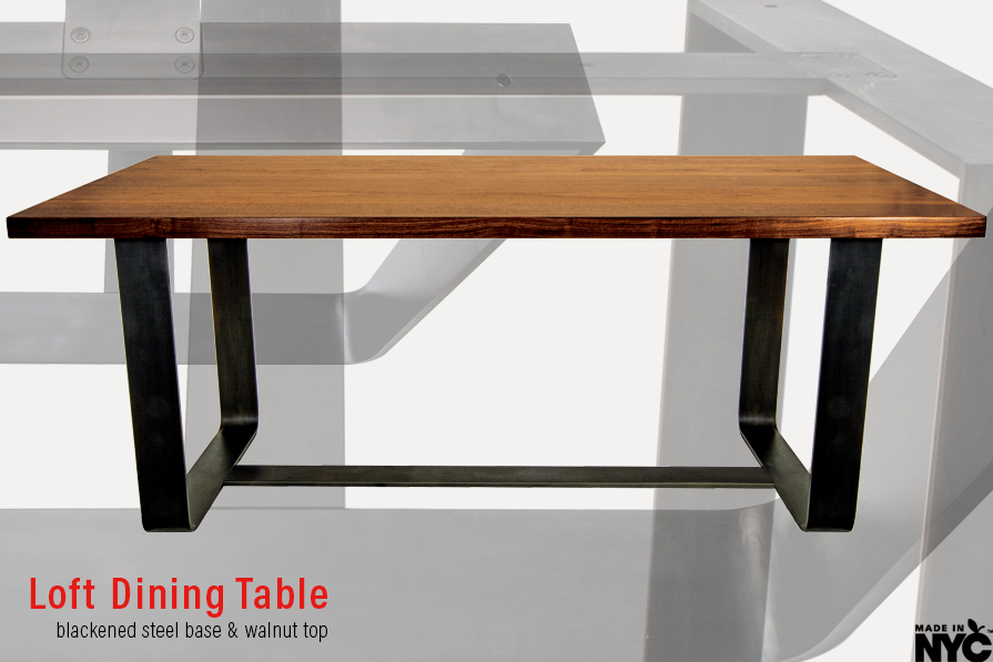 Loft Dining Table Base