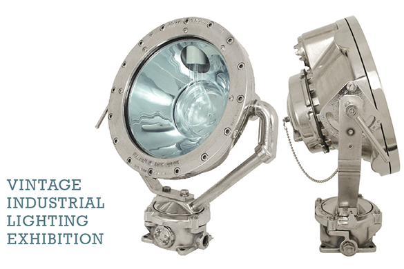 Urban Archaeology | Salvage | Vintage Industrial Lighting Exhibition