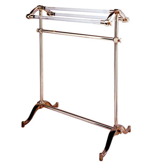 Urban Archaeology Free Standing Towel Rack Glass Bars