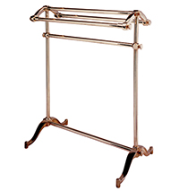 Free Standing Towel Rack [Metal Bars]