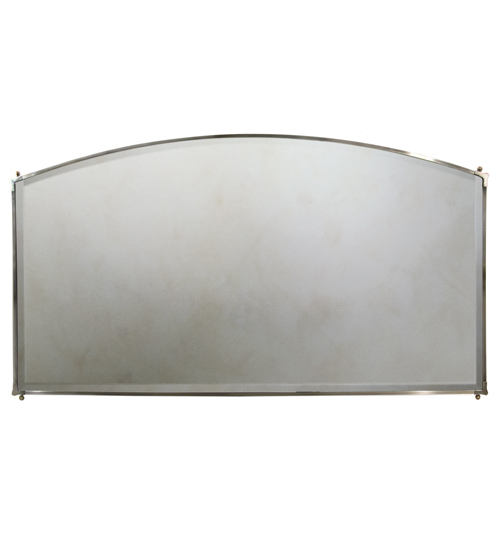 Curved Top Mirror