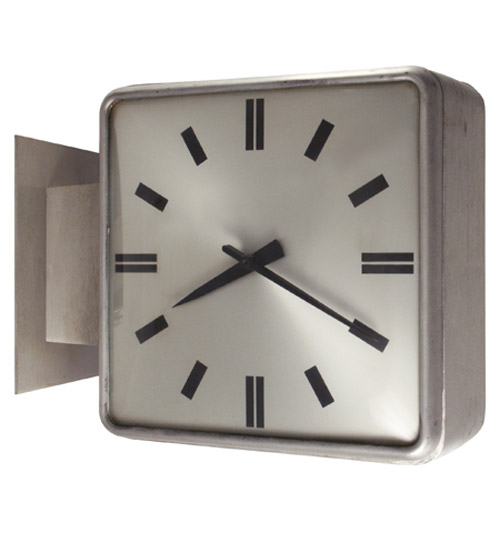 Commerce Twin Faced Clock