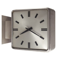 Commerce Twin Face Clock