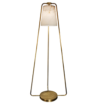 Tribeca Park Floor Lamp [Alabaster]