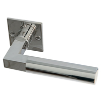 Bauhaus Passage Set [Square Escutcheon]