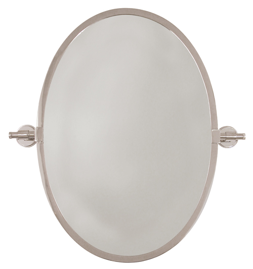 City Oval Mirror