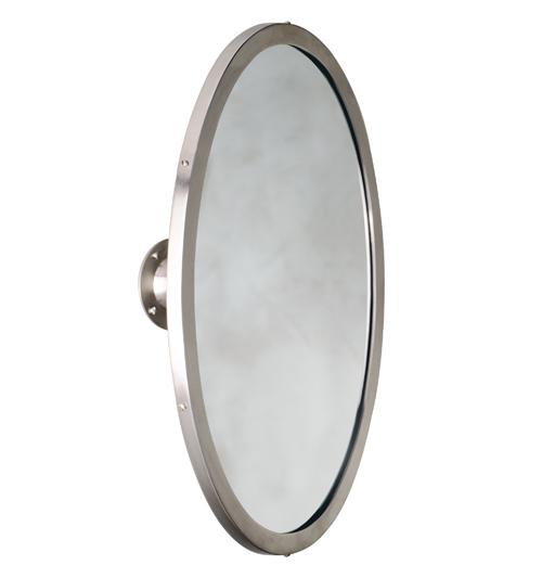 Urban Archaeology Oval Mirror With Swivel UA2557 BA