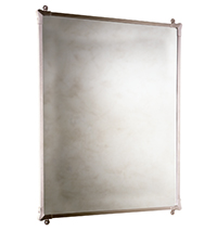 Rectangular Mirror with Corners