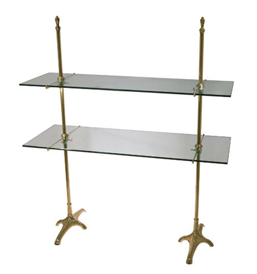 Floor Model Double Cantilever Shelf