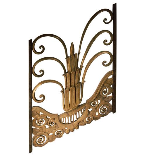 Art Deco Railing: Art Deco Railing [Angled Section