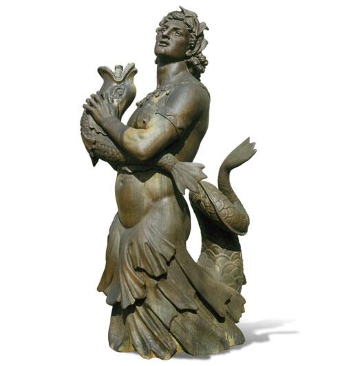 Urban Archaeology Merman Statue Ua0030 Sv