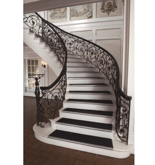 Samuel Yellin Grand Staircase Railing