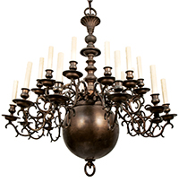 24 Arm Chandelier