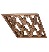 Art Deco Copper Railing [Angled Section]