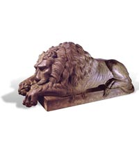 Cast Iron Lion Set