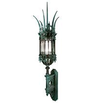 8 Gothic Wallmount Lantern