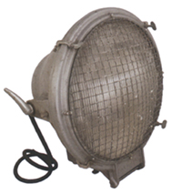 Industrial Crouse-Hinds Cage Light