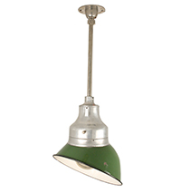 Industrial Pendant with Directional Metal Shade