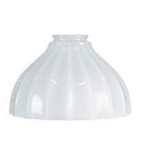 Vintage Cast Glass Shade