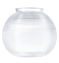 Vintage Prismatic Glass Shade