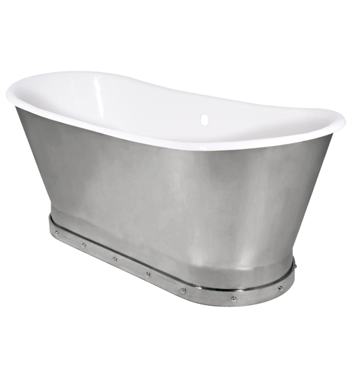 Mercer Bathtub [Solid Brass Skirt]